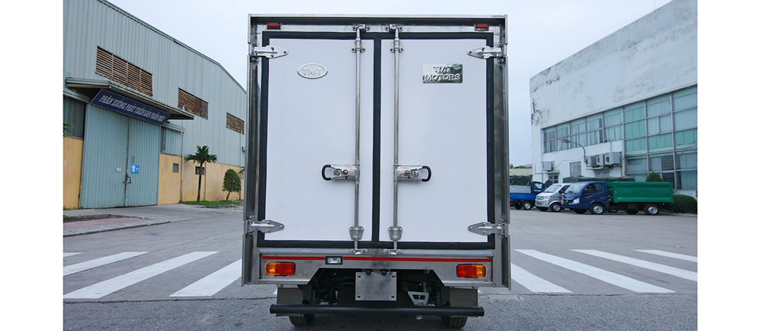 kết cấu thùng xe tải tata đông lạnh