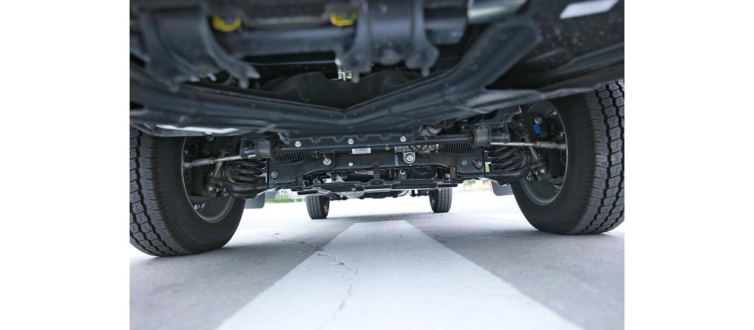 hệ thống khung gầm xe tải tata chở rác
