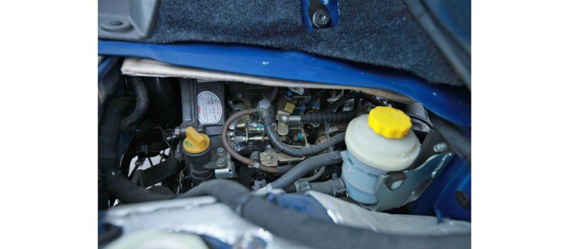 Hệ thống động cơ xe tata chở rác