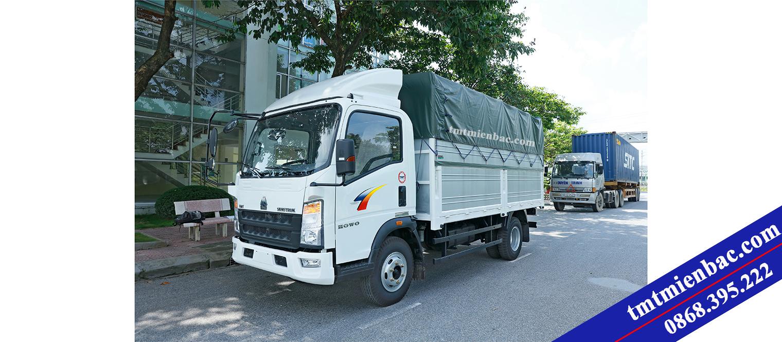 Xe Tải Thùng 6 Tấn - Howo Sinotruk ST7560T - Động Cơ ISUZU