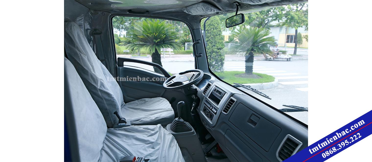 Nội thất Cabin xe tải 6 tấn
