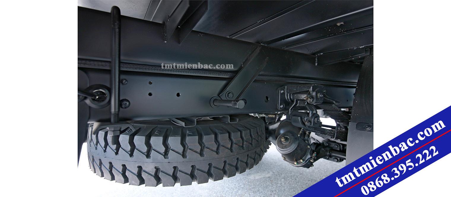 Hệ thống khung gầm sắt xi xe tải 6 tấn